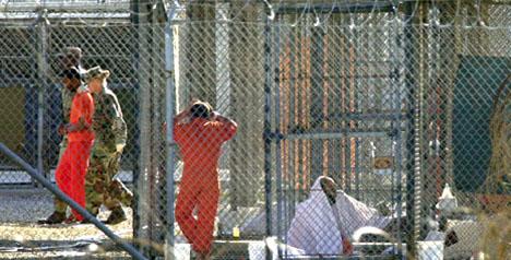 Det sitter fortsatt mer enn 600 fanger arrestert på Guantanamo-basen. De fleste ble tatt til fange i forbindelse med USAs krig i Afghanistan høsten 2001.