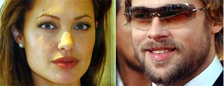 Først ble Angelina syk og smittet Brad. Så ble Brad syk og smittet Angelina. Så ble Angelina syk og smittet Brad. Så ble Brad syk og så videre og så videre (Foto: Scanpix)