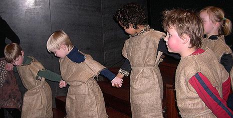 Forvent deg Dovregubbens barn springende rundt under den store konserten. Foto: NRK