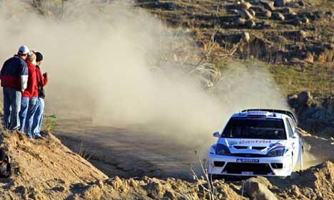Markko Märtin vant Rally Mexico (Foto: Scanpix/Alfredo Estrella)