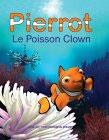 Slik ser den franske klovenfisken Pierrot ut; orange med hvite striper