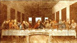 Leonardos Nattverden i Sa Maria delle Grazie i Milano (1495-98).