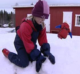 Marit Stensåsen måtte bli hjemme fra skolen og det var dumt syntes hun.