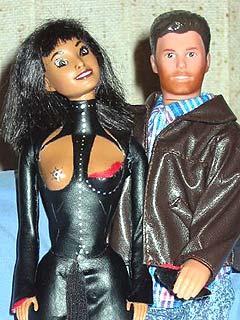 Janet-Barbie og Justin-Ken er ettertraktede. Foto: Scanpix.