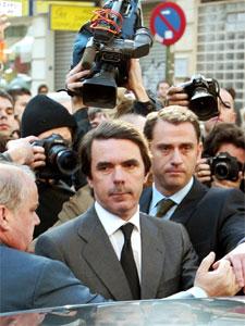 Tidligere statsminister José María Aznar. Arkivfoto.