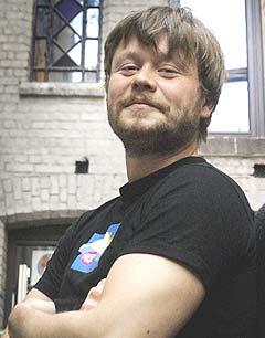 Festivalsjef for Kongsberg Jazzfestival, Martin Revheim takker av og ser seg om etter nye utfordringer. Foto: Heiko Junge, Scanpix.