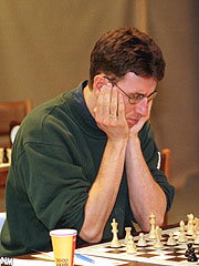 Simen Agdestein er Norges beste sjakkspiller og trener til Magnus Carlsen. (Foto: Berit Roald / SCANPIX)