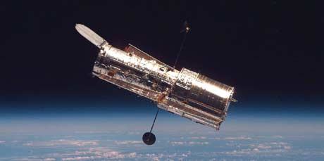 Romteleskopet Hubble (Foto: AP/NASA)