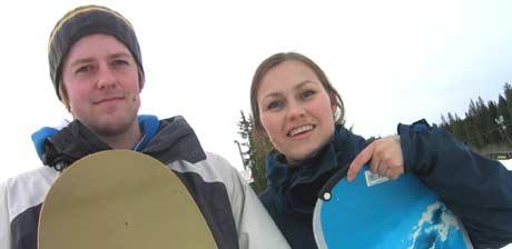 Lærer og elev - Øyvind Naas og Unni (Foto: NRK)