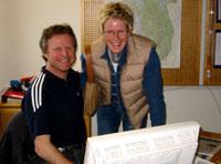 Mange råd fra Åge Skinstad og Hilde Gjermundshaug Pedersen