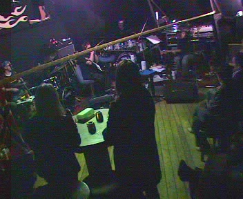 Bildet er fra forsøket og er tatt med webkamera fredag 19. mars kl. 23:15.