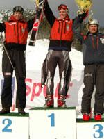 Børge Søvik gikk igjen helt til topps. Denne seierspallen er fra sist helg.(Foto:jan Bakkhus)