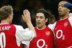 Arsenal tangerte rekorden til Leeds og Liverpool. (Foto: Odd Andersen/AFP)