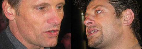 Skal dette liksom være Aragorn og Gollum? Du tuller......(Foto: NRK)