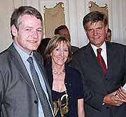 Anne Berg under åpningen av Nordlands EU-kontor i mai 2003.