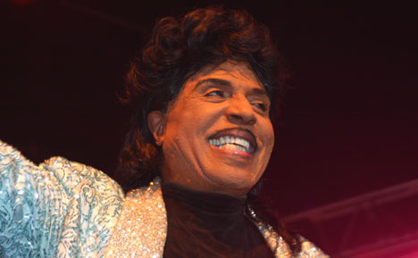 Little Richard i storslag under sin konsert på South By South West. Foto: Per Ole Hagen.