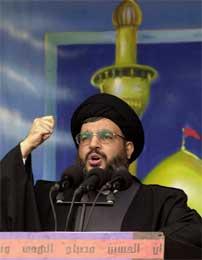 Hizbollah-lederen Hassan Nasrallah er et mulig mål. (Scanpix/AP)