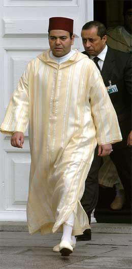 Den marokkanske kongefamilien var representert ved prins Mulay Rashid, broren til kongen. (Scanpix-foto)