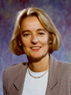 Åse Aulie Michelet er konserndirektør og fikk nylig champis-pris for sin innsats som høyt profilert forretningskvinne (foto: Amersham Health)...