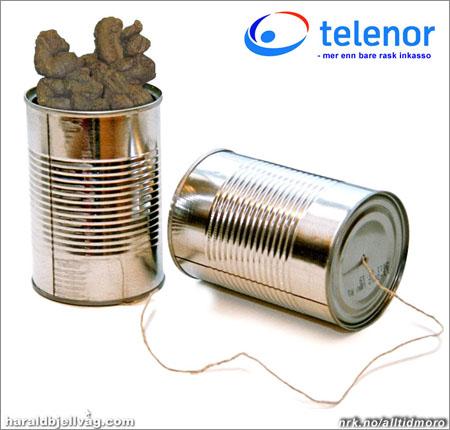 Telenor: Mer enn bare rask inkasso. (Innsendt av haraldbjellvag.com)