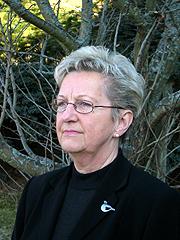 """Astrid Husby er en av dem som føler seg støtt av uttrykket """"selvmordsparagraf"""". Foto: Ann Jones, NRK"""