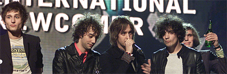 The Strokes plateselskap Rough Trade Records er involvert i forhandlingene med MTV. Foto: Kieran Doherty, AP Photo.