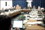 Generalstaben valgt av Slobodan Milosevic.