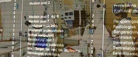 Flytting mellom avdelinger er en av flere områder på et sykehus feil kan intreffe.