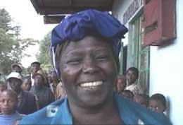 Wangari Maathai (Foto NRK)