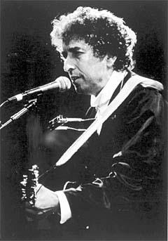 Bob Dylan kom på andrepalss......Foto: Scanpix.