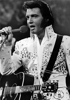 ...mens Elvis havner på en hederlig tredjeplass. Foto: AP Photo.