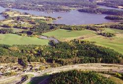 Ett av alternativene til ny sykehustomt: Kalnessvingen i Sarpsborg