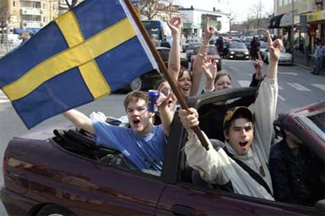Svenskene har tatt etter nordmennene og fester Skjærtorsdag. (Foto: Knut Fjeldstad / SCANPIX)