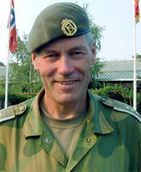 Oberst Arne Druglimo blir rådmann i Åmot. (Foto: PIO/NCC/SCANPIX)