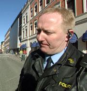 Svein Erik Gevelt, operativ leder i politiet i Drammen