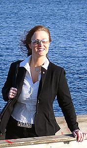 Lena Hamnes - foto: Ivar Jensen, NRK.