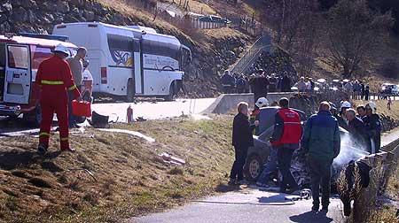 Under ulukka ved Flåm før påske nådde ikkje politiet fram til hjelpemannskap gjennom mobiltelefonen. (Foto: Arne Veum, Aurlendingen)