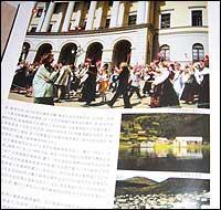 Norske motiv i eit kinesisk nyheitsblad. (Foto: I. H. Anderssen, NRK)