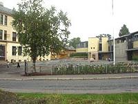 Grorud skole er skeptisk til barnehagebrakke i skolegården. Foto: NRK