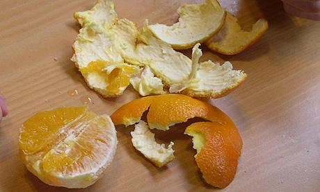 Hvilket minne har du til lukten av en appelsin? Foto: NRK