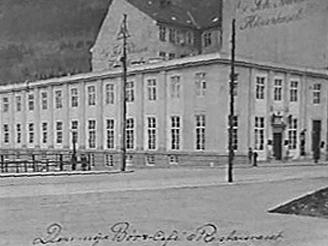 Børs Café vart etablert i 1894.