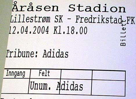 Mandag 12. april skal FFK møte Lillestrøm på Åråsen. Det er første gang på 19 år at FFK spiller i toppserien. Foto Rainer Prang NRK.