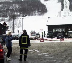 Faren til jenta ble alvorlig skadet. (Foto: Andreas Brekken/Scanpix)