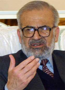 Mohsen Abdel Hamid. (Foto: Scanpix / AFP / Bilal Qabalan)