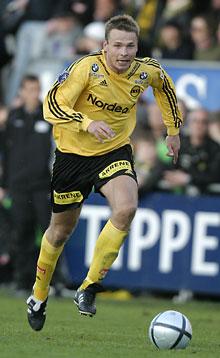 Arild Sundgot er med sine tre mål i toppen av toppscoreroversikten.