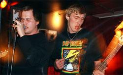 To av medlemmene i Bercedes-Menz i aksjon: Lars Christian og Maxi.