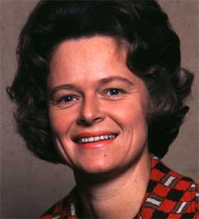 Gro Harlem Brundtland var miljøvernminister 1974-1979. Foto: NTB.