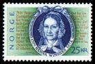 Hanna Winsnes protrett på frimerke