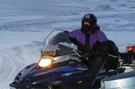 De to studentene tilknyttet NTNU kjørte selv tilbake til Longyearbyen.