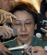 Yoriko Kawaguchi (Foto: Scanpix / Reuters / Issei Kato)